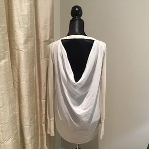 Lululemon UNITY PULLOVER Sweater Drape Back SZ 6